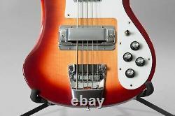 1992 Rickenbacker 4003S/5 5-String Bass Guitar Fireglo