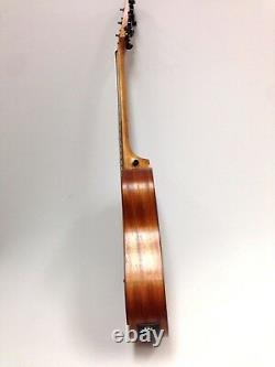 36 Inch All-Mahogany Travel Acoustic Guitar withEQ Bag Picks String Caraya safair