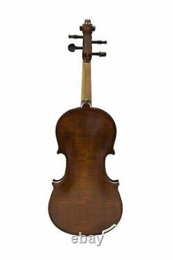 4/4 Advanced Violin, Great Varnish and Tonality, with Case, Bow & Free Tonica Set