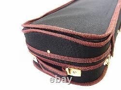 4/4 Pro. Enhaced Wooden Black Violin Case-I + free violin string Limited
