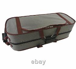 4/4 Wooden Two/Double Violin Case for Air Flight on Board/Free violin string set