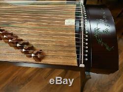 53 21-String Guzheng, Chinese Zither Harp Instrument, Koto