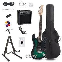 6 String Full-size Electric Guitars Set Start Kit Musical Instruments
