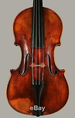 A superb certified Italian violin by Giuseppe Fiorini, Bologna, 1884