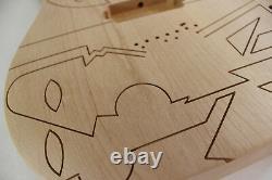 Alder Engraved JPM Guitar body fits Ibanez (tm) 7 string RG and UV Necks P446