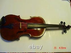 Antique Old 4/4 Violin Friedrich August Glass