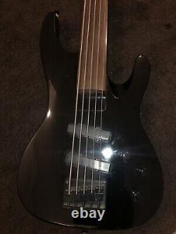 Aria pro II bass MAB-20/5 Fretless 5-string Early 90s Korean