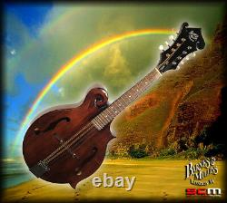 Barnes & Mullins Salvino Florentine F style Mandolin All Solid Tonewoods
