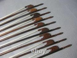 Baroque Violin Bow, Pure Snakewood, Handmade, Great Balance, Uk Seller