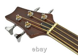 Bryce Fretless Electro Acoustic Bass 4 String