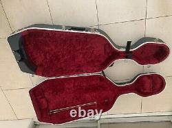 CELLO William Piper full size 750mm body, Schneider bow and Hiscox Flight Case