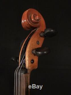 C. 1890-1920 Jacobus Stainer 4/4 Full Size Violin Vintage Old Antique Fiddle