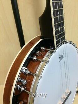 Caraya BJ-005 5-String Banjo, Mahogany Back + Free Gig Bag
