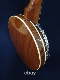 Caraya BJ-006 6-String Guitar Banjo withMahogany Resonator+Free Gig Bag