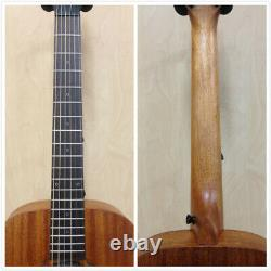 Caraya Safair 34 EQ All Mahogany Acoustic Guitar withBuilt-in EQ, Tuner+Free Bag
