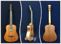 Caraya Safair 34 EQ Electro-Acoustic Guitar, All-mahogany, Matt+Free gig bag