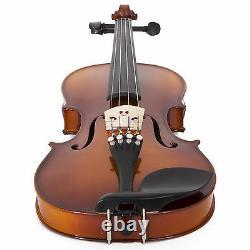 Cecilio CVN-320L Left-Handed Violin Ebony Size 4/41/4