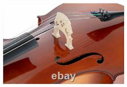 Cello Set 4/4 Tasche Bogen handgearbeitet Garnitur Violoncello Set Gigbag Ahorn
