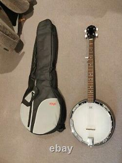 Countryman 5 String Banjo TCB24 FANTASTIC CONDITION! Includes carry case