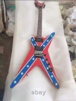 Custom Rare Shaped Wash Dime 333 Dimebag 6 String Guitar Darrell Rebel Chinese