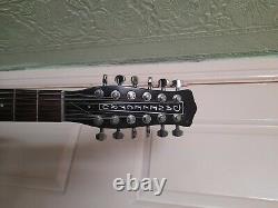 Danelectro 12 string semi electric guitar