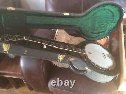 Deering 5 string calipo banjo