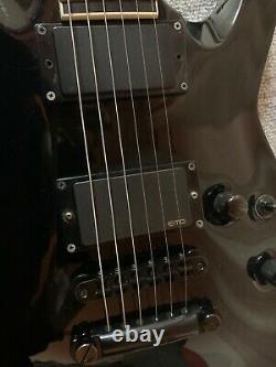 ESP HORIZON CUSTOM BLACK OLD LOGO 2000s 6 strings guitar METAL CORE HEAVY METAL