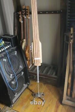 EUB Bass Fretless 4 String Maple Wishbass 36 Scale Stick Bass Piezo Pickup