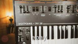 Elektronika Em 26 Vintage Soviet Analog Vocoder String Synthesizer USSR Synth R3