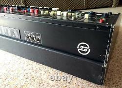 FORMANTA EMS-01 Soviet analog 2-manual synthesizer + piano-strings 80s Polivoks