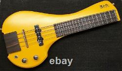 FingyBass Travel Bass Electric Guitar by MihaDo 4 strings