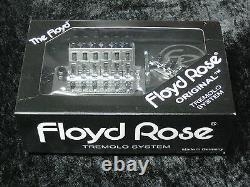 Floyd Rose Original German Chrome Tremolo System Complete with Nut (3 STRING SETS)