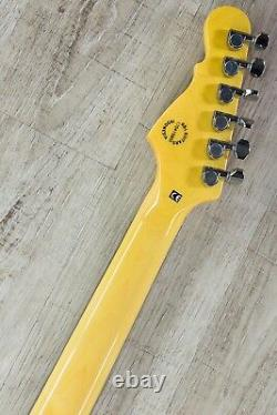 G&L Tribute S-500 6-String Electric Guitar Brazilian Cherry Board Irish Ale