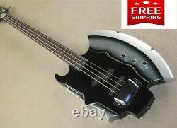 Gene Simmons Guitar 4-string Cort Style Bass Axe Signiture Rock Kiss Firehawk