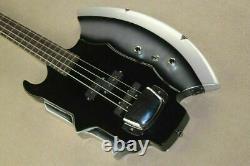 Gene Simmons Guitar Cort Style 4-String Bass Axe Signiture Rock KISS Firehawk