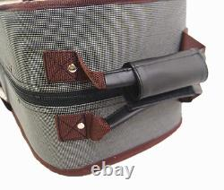 Good Quality / Pro. 4/4 Wooden Two/Double Violin Case for air-flight on-board