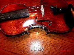 Gorgeous Old Italian Style Antiqued Concert Violin Stradivarius 1716