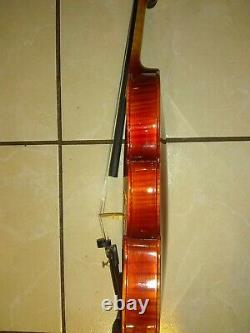Gorgeous Old Italian Style Concert Violin 4/4 Carlo Bergonzi 1736