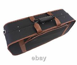 Great Light Weight 4/4 Two/Double Violin Foamed Case +Free violin strings set