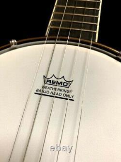Great Playing New 5 String Model Concert Travel Banjo Banjolele