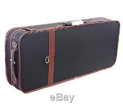 Great Pro. Wooden Double 4/4 (Violin/Viola) Case Adjustable