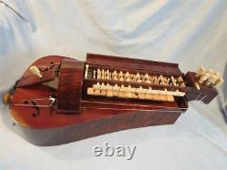 Hand Made 6 strings 24 keys Hurdy Gurdy, Maple wood #2