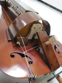 Hand Made maple wood 6 strings 23 keys beautiful Hurdy Gurdy, free with case #2