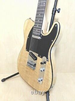 Haze 12-String Electric Guitar, S-S Pickups, Gloss Natural Quilted Top. 100BNA 12S
