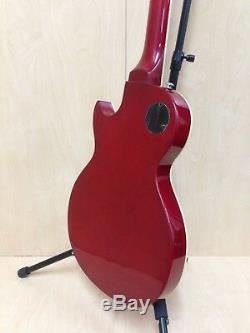 Haze E-239CS Semi-Hollow Electric Guitar Cherry Sunburst + Gig Bag + Strings