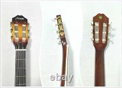 Haze MRC602FHCEQ Electric Nylon String Guitar, Semi-Hollow Body, Piezo Pickup+Bag