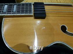 Heritage Sweet 16 Semi Hollow Arch Top Natural 1999 USA 6 String Electric Guitar
