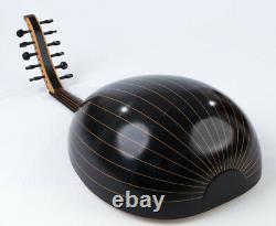 High Quality Arabic Oud Black Walnut Wood with Pyramid Strings