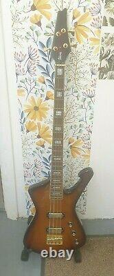 Ibanez Ice Man Bass Guitar WZ40109 4 String