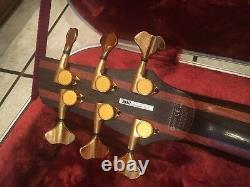 Ibanez SR5006 Soundgear 6 String Electric Bass Guitar Made in Japan with Case NICE